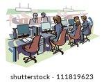 office   Shutterstock .eps vector #111819623