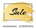 luxury fashionable banner for... | Shutterstock .eps vector #1118205266