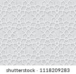 geometric pattern with grunge... | Shutterstock .eps vector #1118209283