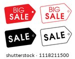 set of vector price icons.... | Shutterstock .eps vector #1118211500