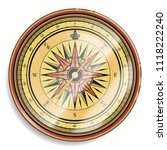 compass  vector isolated... | Shutterstock .eps vector #1118222240