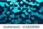 3d render abstract background.... | Shutterstock . vector #1118228483