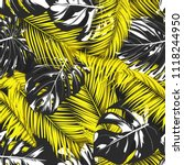 tropic seamless pattern with... | Shutterstock .eps vector #1118244950