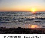 seascape. beautiful seascape at ... | Shutterstock . vector #1118287574