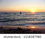 seascape. beautiful seascape at ... | Shutterstock . vector #1118287580