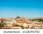 lisbon  portugal.  february 11  ... | Shutterstock . vector #1118296703