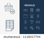 commercial icon set and sale...
