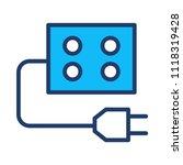 outlet plugin socket  | Shutterstock .eps vector #1118319428