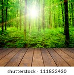 wood textured backgrounds in a... | Shutterstock . vector #111832430