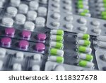 pharmaceuticals antibiotics... | Shutterstock . vector #1118327678