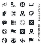 set of vector isolated black... | Shutterstock .eps vector #1118334710