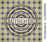authentic arabesque style...   Shutterstock .eps vector #1118369000