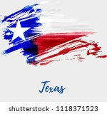 abstract watercolor grunge flag ... | Shutterstock .eps vector #1118371523