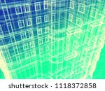 abstract modern architecture... | Shutterstock . vector #1118372858