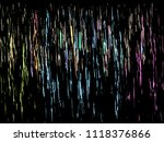 colorful christmas background | Shutterstock .eps vector #1118376866