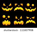 set of vector icons of... | Shutterstock .eps vector #111837908
