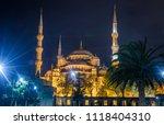 the blue mosque   sultanahmet... | Shutterstock . vector #1118404310