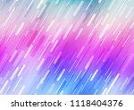 light multicolor  rainbow... | Shutterstock .eps vector #1118404376