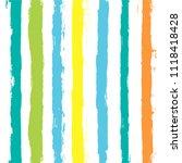 paint lines seamless pattern.... | Shutterstock .eps vector #1118418428