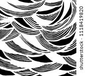 wavy lines pattern. abstract... | Shutterstock .eps vector #1118419820