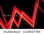 geometric shapes created with... | Shutterstock .eps vector #1118437784