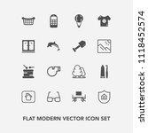 modern  simple vector icon set... | Shutterstock .eps vector #1118452574