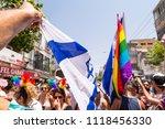 tel aviv  israel   june 8  2018 ...   Shutterstock . vector #1118456330