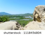 view on aragvi and kura ... | Shutterstock . vector #1118456804