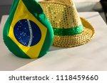 supporter's soccer kit   bright ... | Shutterstock . vector #1118459660