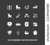 modern  simple vector icon set... | Shutterstock .eps vector #1118460488