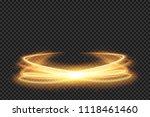 light effect line gold vector...   Shutterstock .eps vector #1118461460