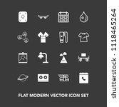 modern  simple vector icon set... | Shutterstock .eps vector #1118465264