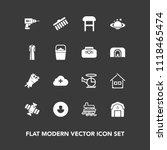 modern  simple vector icon set... | Shutterstock .eps vector #1118465474