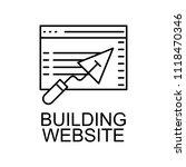 building website icon. element...