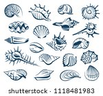 monochrome collection of... | Shutterstock .eps vector #1118481983