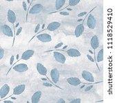watercolor seamless pattern... | Shutterstock . vector #1118529410