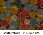 african print fabric  ethnic... | Shutterstock .eps vector #1118534126