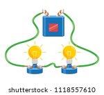vector illustration of electric ... | Shutterstock .eps vector #1118557610