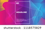 color geometric abstract vector ... | Shutterstock .eps vector #1118575829