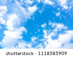 Blurry Sky Blue Azure Sky - Fine Art prints