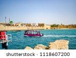boat in acre marina | Shutterstock . vector #1118607200