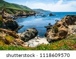 view from pacific coast highway ... | Shutterstock . vector #1118609570