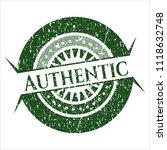green authentic grunge stamp   Shutterstock .eps vector #1118632748