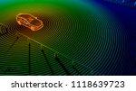 autonomous self driving... | Shutterstock . vector #1118639723