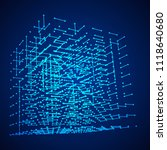 big data visualization. hud...   Shutterstock .eps vector #1118640680