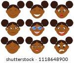 vector illustration of a child... | Shutterstock .eps vector #1118648900