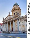 the deutscher dom in berlin ... | Shutterstock . vector #1118696816