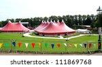 Festival Tents At The Preston...