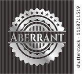 aberrant silvery shiny emblem   Shutterstock .eps vector #1118711519
