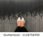 top view shot everyday look of... | Shutterstock . vector #1118756450